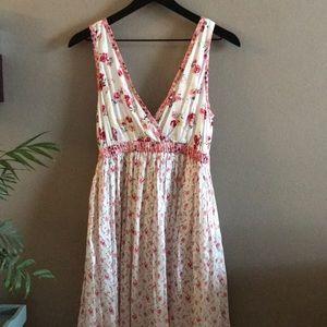 Floral maxi dress 🌼